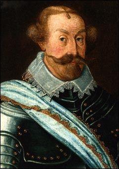 Karl IX Gustavsson Vasa 1550-1611, porträtt av okänd konstnär