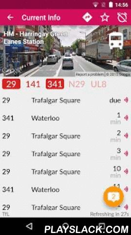 London Bus Checker Free: Times  Android App - playslack.com ,  Get live bus times, smarter journey planning and comprehensive route maps for every stop in London.London Bus Checker™ is the hit app that works at all London's 20,000 bus stops to show you when the next buses are coming - and where they're going. Plus there's live journey planning to plan your trip by tube, train, overground, ferry, hovercraft.. ..however you roll, we've got it covered.• As featured on BBC Click, Telegraph…