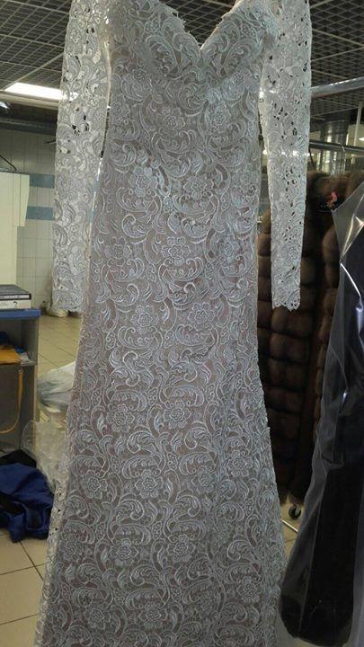 #химчистка Чистим свадебные платья - http://him-belyi-gorod.ru
