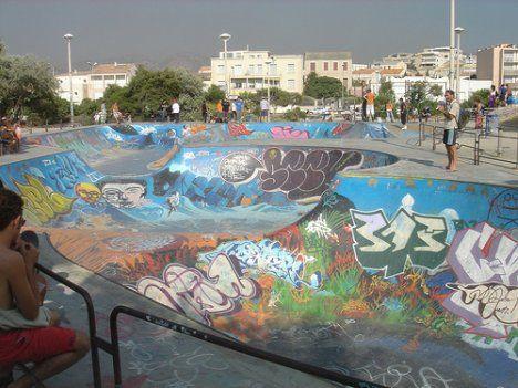 Marseille Skatepark, France  Ramp & Roll: 10 Amazing Skate Parks Around the World | Urbanist