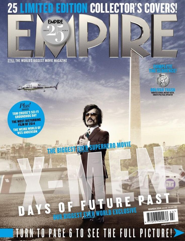 X-Men – Dias de um Futuro Esquecido   Bryan Singer mostra Peter Dinklage como Bolivar Trask