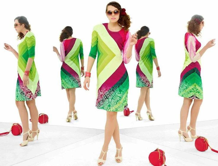 Buy Marvelous Multi Coloured Crepe Printed Kurti.😍😍 Grab your favorite kapadewala Brand Company. Our price starts at Rs. 450/- only.