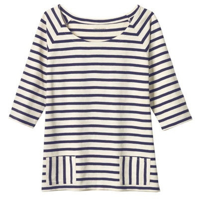 Top with pockets by Toast: Breton Tops for the Weekend