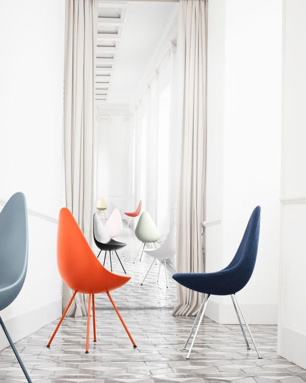 Arne Jacobsens Drop Chair Comes Back to Life