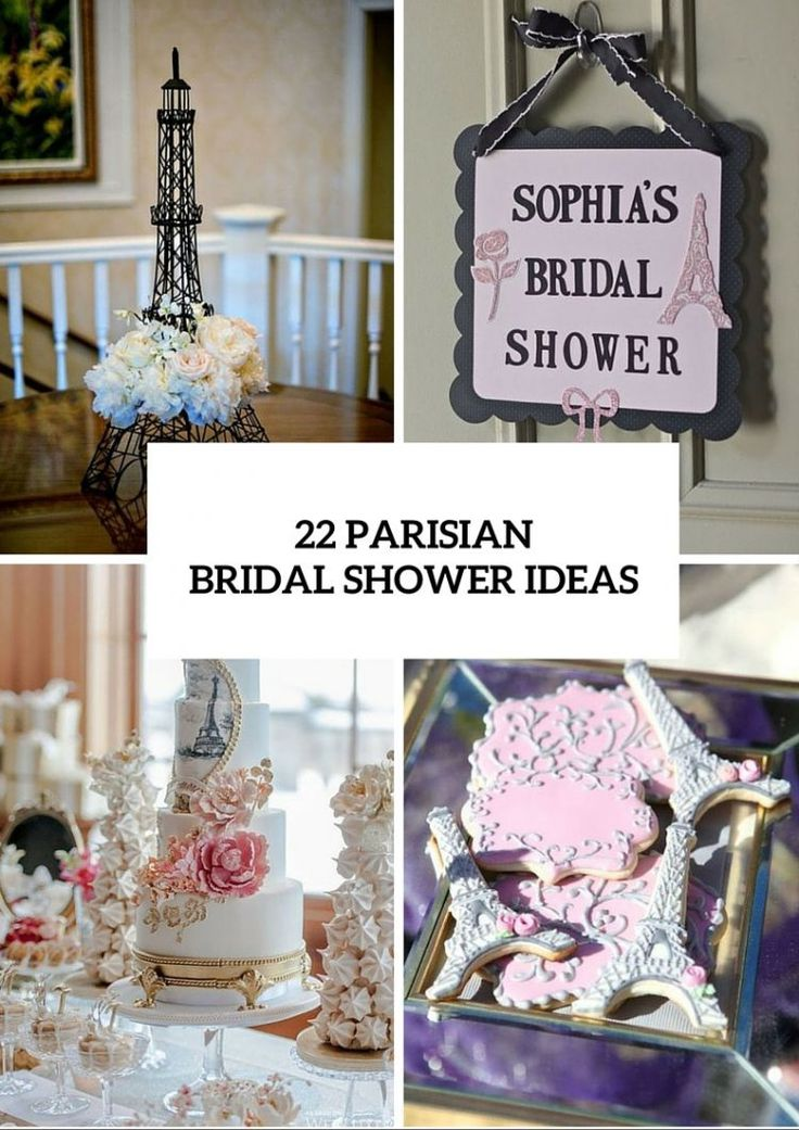 bridal shower gift ideas for bride philippines%0A Today we present    chic Parisianthemed bridal shower ideas  A bridal  shower is the perfect time to immerse the bride and her closest friends and  family