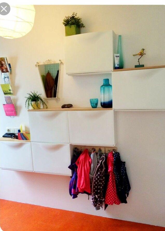 Ikea Trones shoe cabinets Hallway Shelf