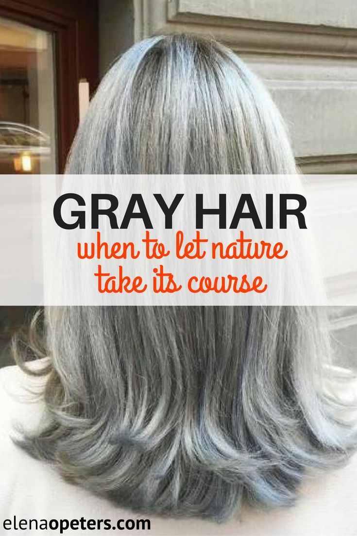 How To Make Gray Hair Blonde Naturally