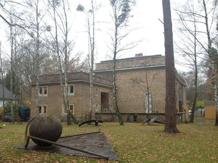 Kunsthaus Berlin Dahlem - eine Baustellenbesichtigung