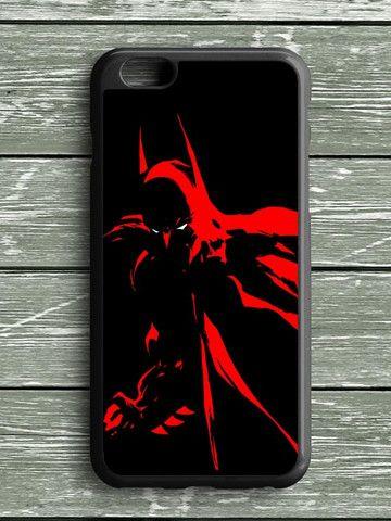 Black Red Batman iPhone 6S Plus Case