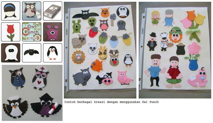 Jual Pembolong Kertas Burung Hantu / Owl Paper Punch - Pinkieface | Tokopedia