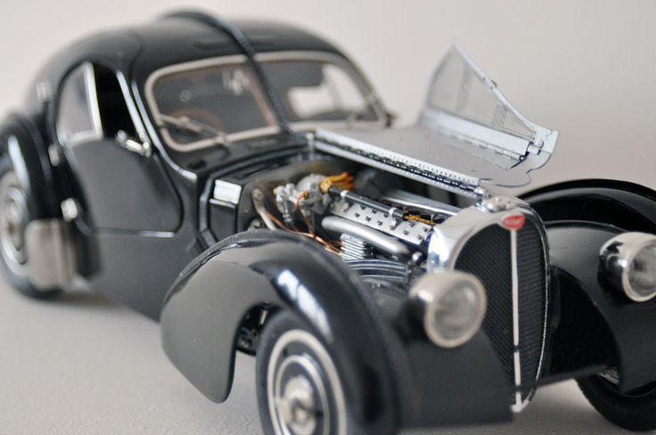 model 3D bugatti