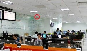 Vị trí lắp đặt camera quan sát tốt nhất cho văn phòng