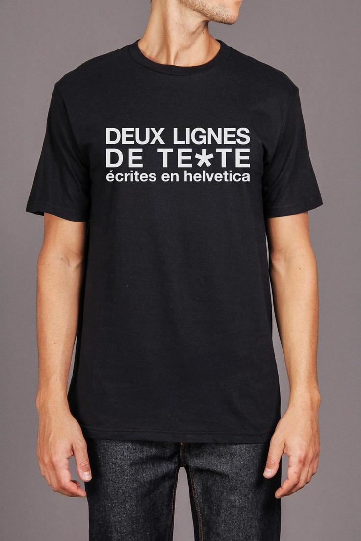 The Texte Tee: Tees, Style, Los Angeles, Tee Shirts, Ampersand Tee