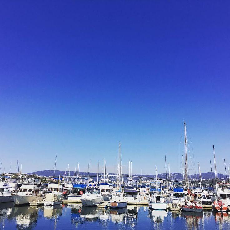 Nice day for a sail #hobart #sailing #tasmania #discovertasmania