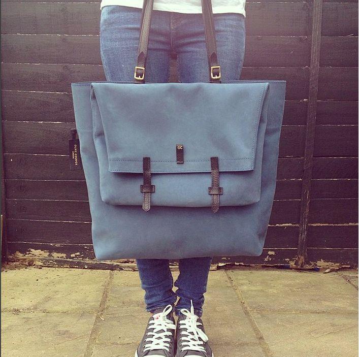 Ganton - Blue Nubuck - Available at Clerkenwell London Store