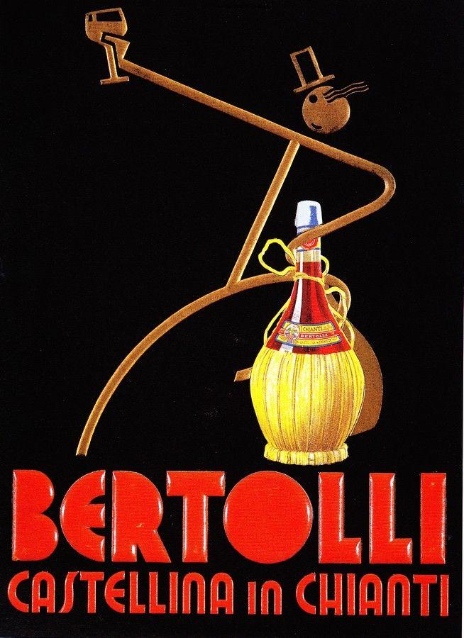 Chianti Bertolli - #fiasco #wine