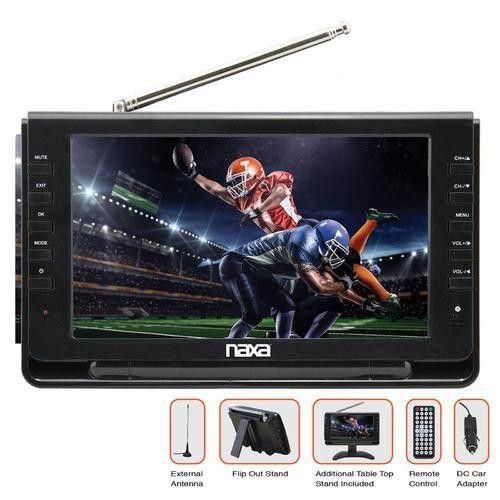 "9"" Portable TV & Digital Multimedia Player"