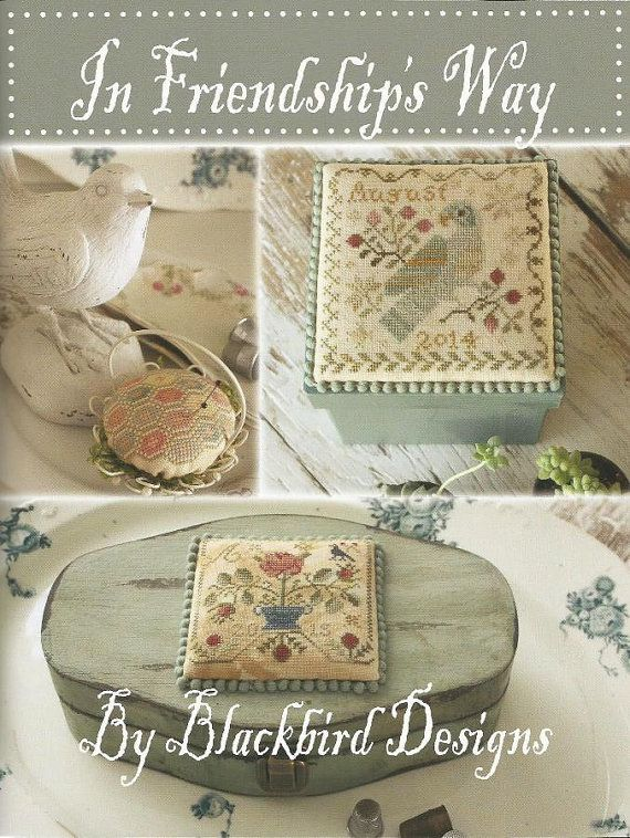 BLACKBIRD DESIGNS In Friendship's Way 40 by NeedleCaseGoodies