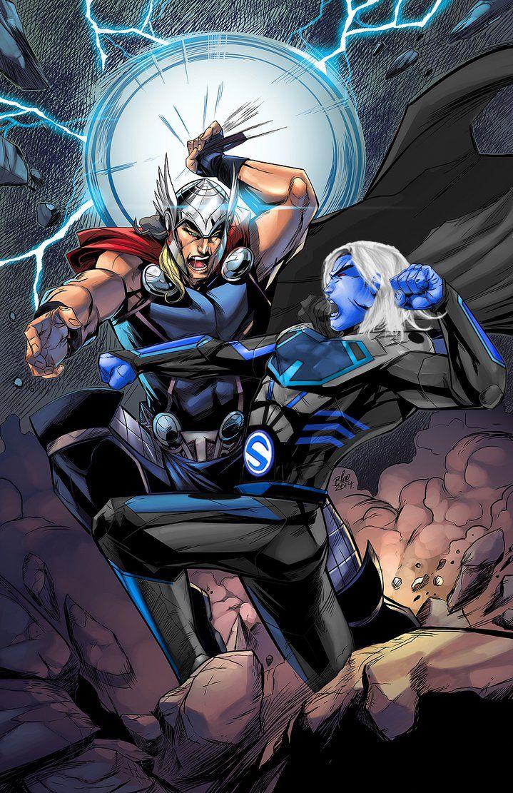 Death Sentry vs Thor Odinson | Thor Odinson | Pinterest ...