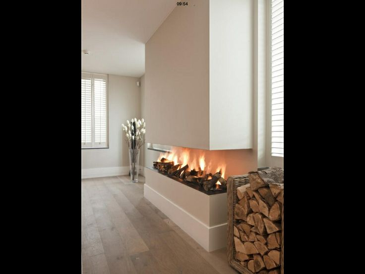 Modern Minimal Fireplace A Must Have For My Dream House