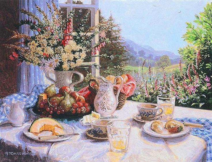 Breakfast By The Window ~ Stephen Darbishire