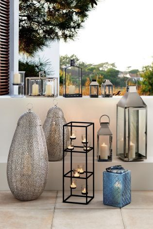 All the outdoor lighting you need and MORE with our gorgeous lanterns!