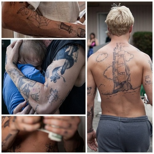 The Place Beyond The Pines Tattoos