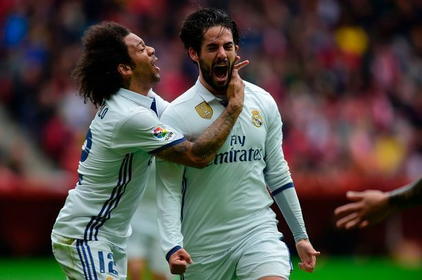 Isco's masterpiece for Real Madrid to see off Sporting Gijon