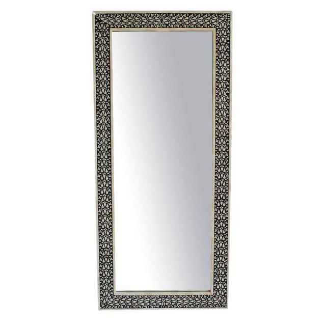 Image of Black & White Full Length Mirror