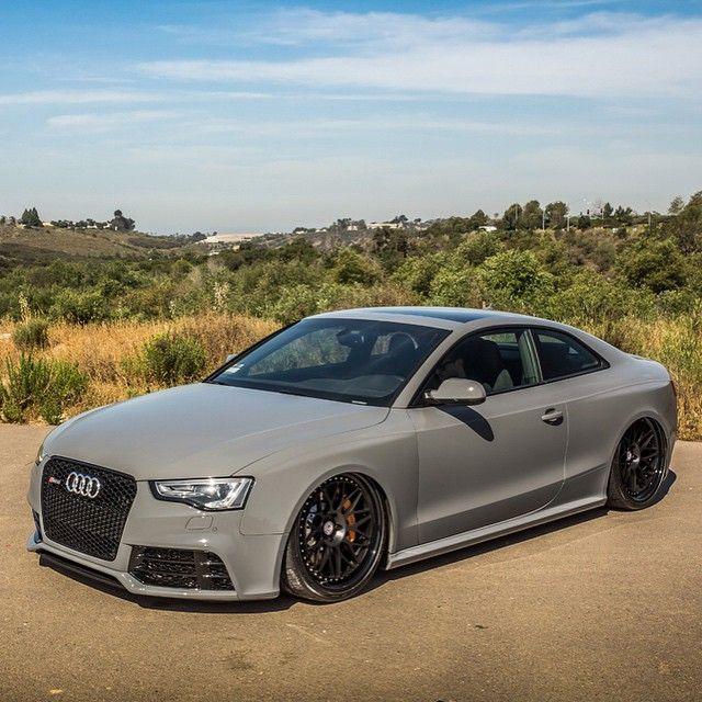Audi RS5 on HRE wheels