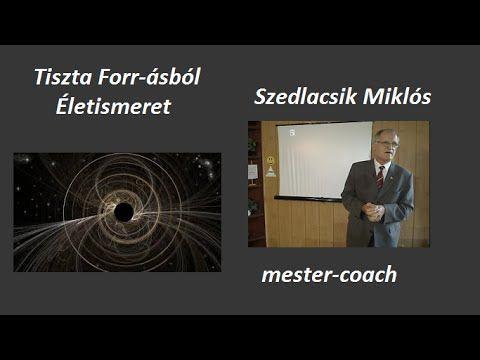 Életismeret Tiszta Forrásból- Szedlacsik Miklós Mester Coach
