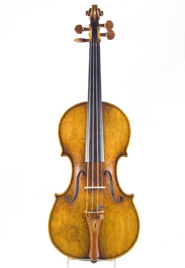eplica of violin - C.A.Testore 1746 by Rumen Spirov -2013 year with Tailpiece with Tiger eye stone handmade Rumen Spirov
