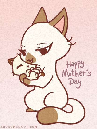 the GaMERCaT :: Happy Mother's Day | Tapastic Comics - image 1
