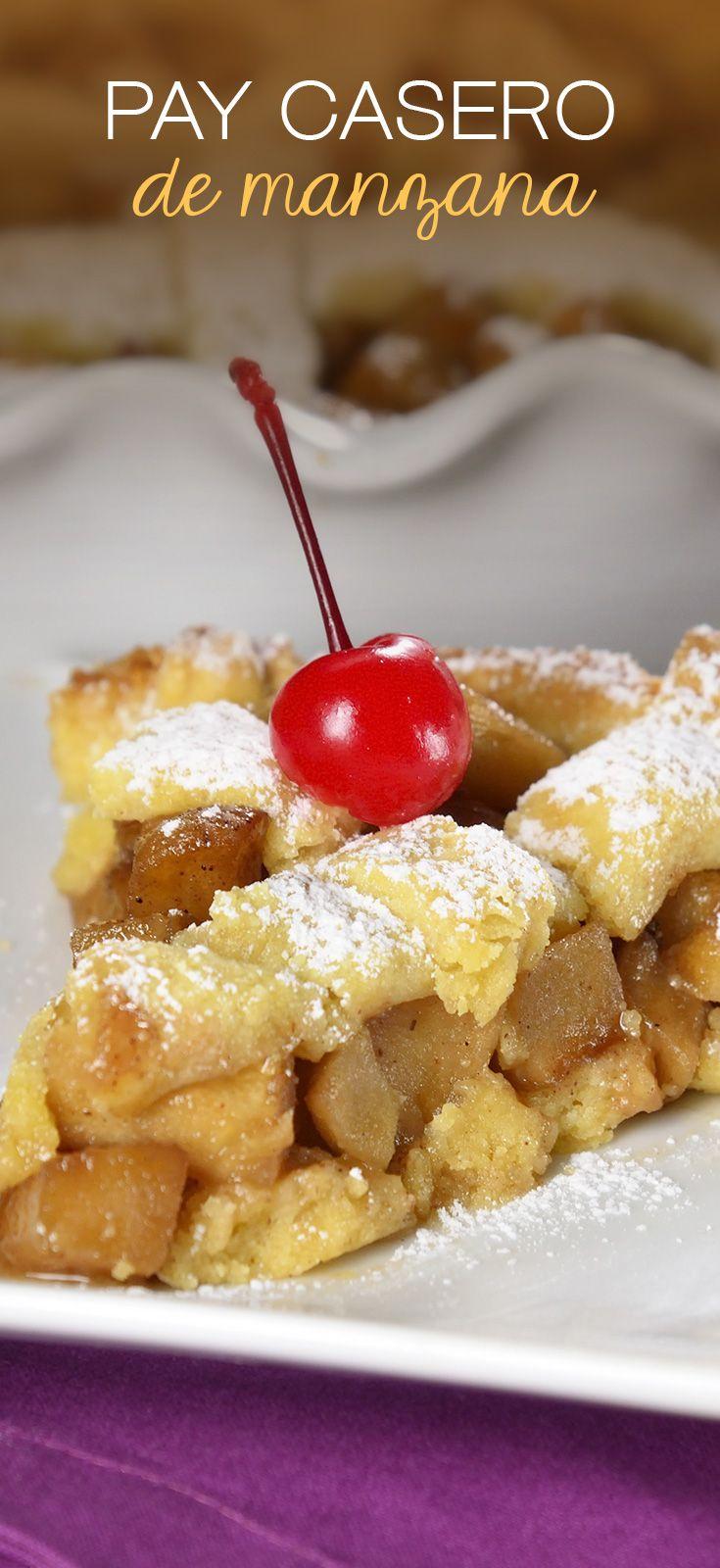 Este pay caliente de manzanas caramelizadas es el postre para otoño favorito.Tiene toda la pinta de un pay clásico americano pero con el toque de kiwilimón ¡Acompáñalo con helado de vainilla!