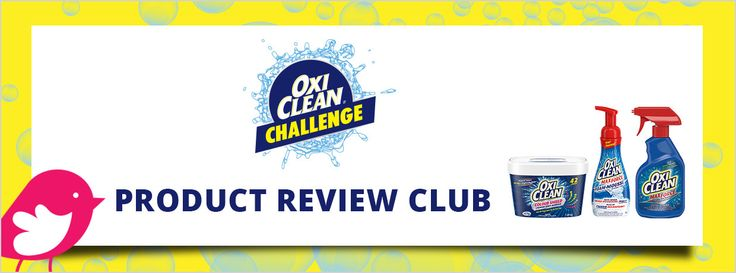 New Product Review Club Offe: OxiClean™ Laundry  #OxiCleanChallenge