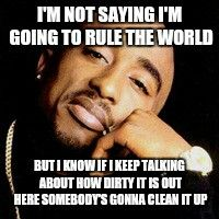 2pac quote. Real on so many levels