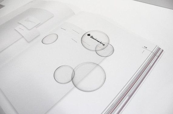 Bubble Tracing Paper Sticky Note / Notepad / Memopad by DubuDumo