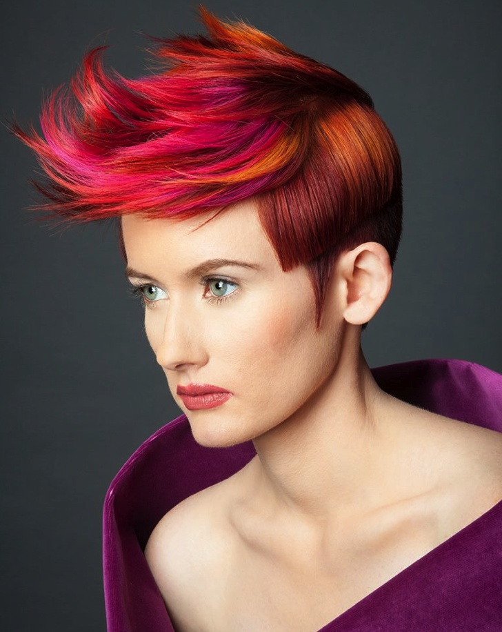 PRESENTING THE GOLDWELL COLOR ZOOM 2013 U.S. SEMI-FINALISTS. 50 shades of gorgeous! Hair style and color: Michelle Vance of Ricky Hodge Salon Model: Susannah Photo: David Heisler MUA: Christie Griffin