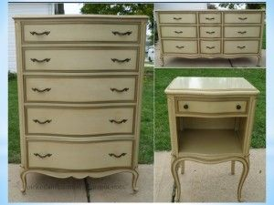 Paint Formica of Laminate tops with Chalk Paint®- YES!  Here is how!  http://www.thepurplepaintedlady.com/2015/03/7476/