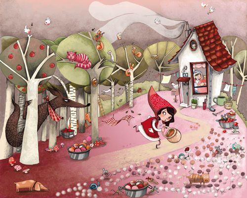Little Red by Mayana Itoïz