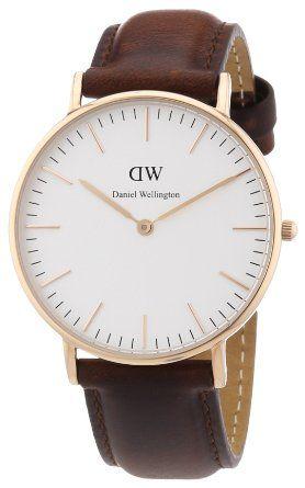 Daniel Wellington Damen-Armbanduhr Classic St Andrews Lady Analog Quarz Leder 0507DW.: Daniel Wellington: Amazon.de: Uhren
