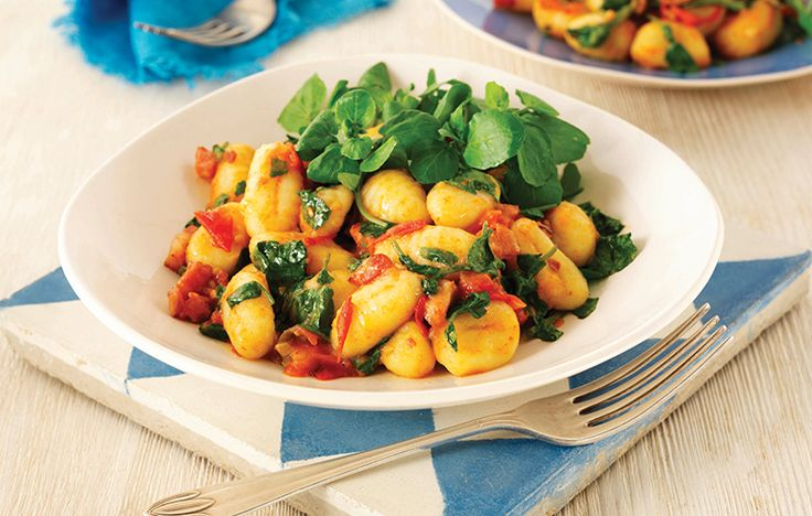 Gnocchi with pancetta and watercress. Follow link for full recipe from appetite, North East England's dedicated food & drink publication.