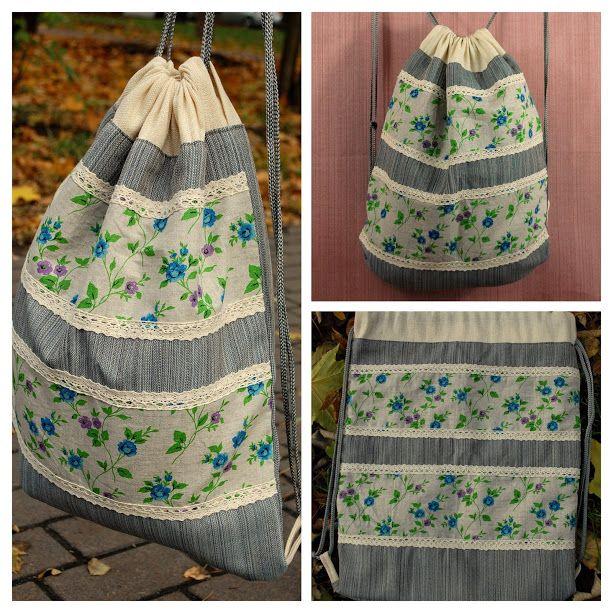 #linenbag, #countrystyle, #floralprint, #summerbag, #cinchbag, #workoutbag, #festivalbackpack, #functionalbag, #floralpouch, #holidaygift, #cottagestyle, #handmadebackpack, #drawstringbag