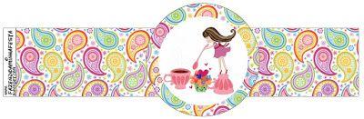 Fiesta de Té de Chicas: Imprimibles Gratis para Fiestas.