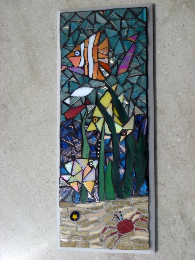 59 Best Fish Mosaic Images On Pinterest Fish Mosaic Art