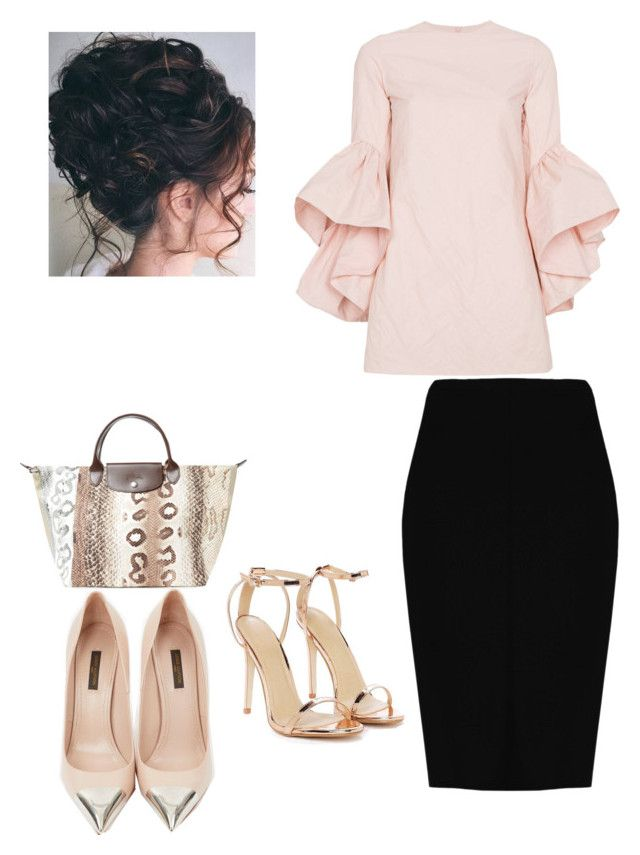 Feeling Pink by beautifuldreamer-kdc on Polyvore featuring polyvore, fashion, style, Marques'Almeida, Boohoo, Louis Vuitton, Nasty Gal, Longchamp and clothing