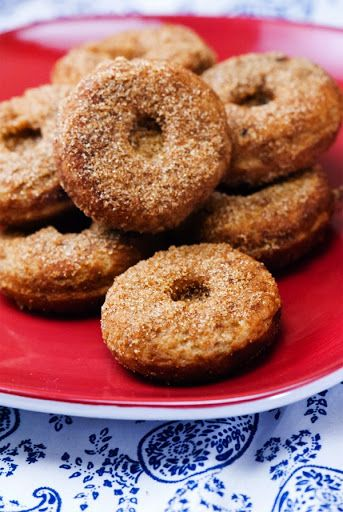 Baked Mini Gluten Free Vegan Vanilla Donuts Recipe on Yummly