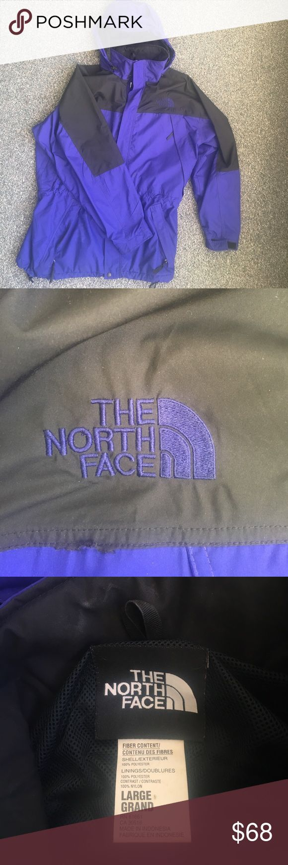 The North Face Wind Breaker Rarely used North Face windbreaker Size Large. The hood can be stored in a pouch behind the colar. Great bonus for when you want to hide your dime bags! The North Face Jackets & Coats Lightweight & Shirt Jackets