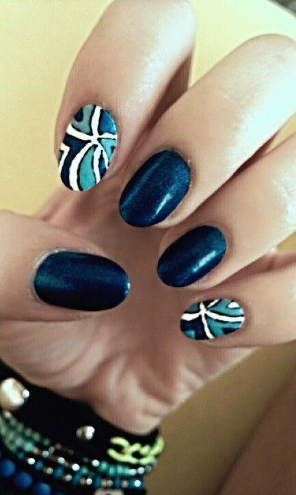 Blue strips / Niebieskie paski
