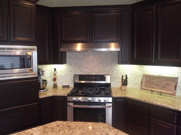 Rustoleum Countertop Paint Prep : ... Painting on Pinterest Oak cabinets, Painting cabinets and Rustoleum